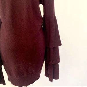 Chelsea28 Sweaters - Chelsea28 Tier Bell Sleeve Sweater Cashmere Blend